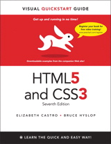 """HTML5 and CSS3"" book cover"